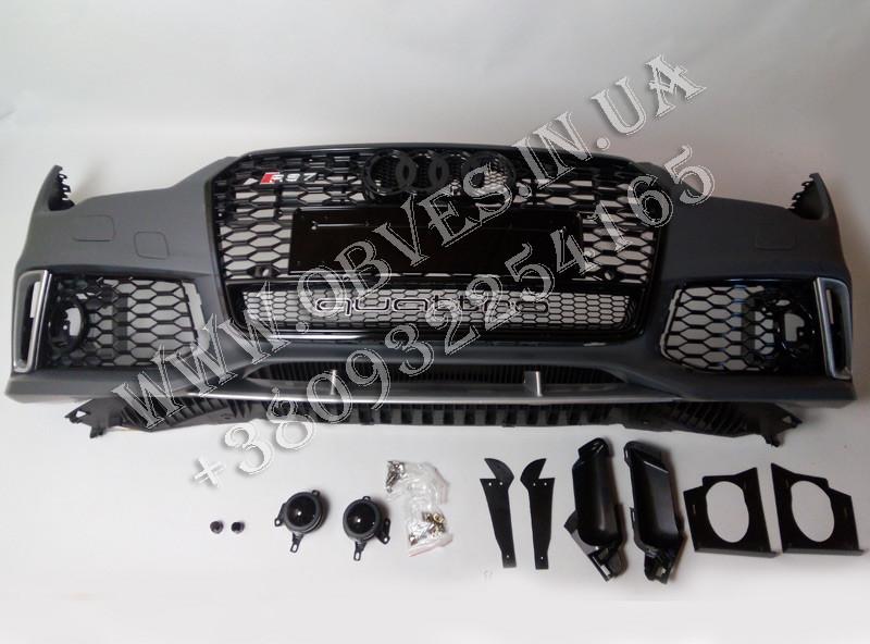 Передній бампер Audi A7 стиль Audi RS7 (2015-2017)