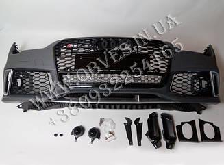 Передний бампер Audi A7 стиль Audi RS7 (2015-2017)