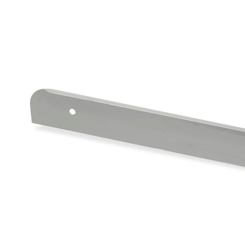 Заглушка столешницы H=28мм левая R=13мм алюминий