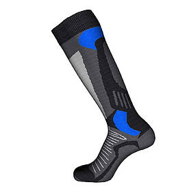 Шкарпетки лижні Emmitou 38-40 Black-Grey-Blue - 187915