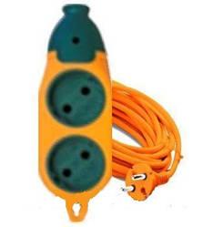 Удлинитель  двухсторонний для строек 2гн+2гн 3м б/з