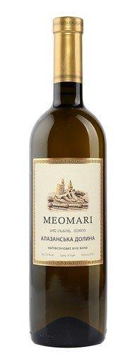 Вино MEOMARI Алазанська долина біле напівсолодке 0.75 л 12% Грузия