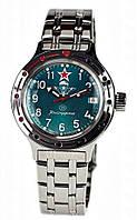 Мужские командирские механические наручные часы Амфибия  Восток  с автоподзаводом ВДВ13