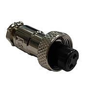 Роз'єм під два штирі для апарату СПІКА TIG 215 TM, кабельна розетка, фото 1