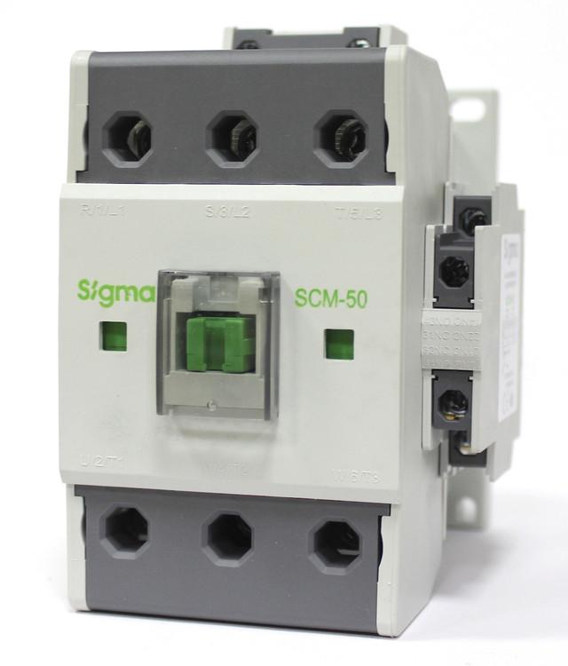 Контактор магнитный пускатель 3 полюса 3 фазы магнітний пускач 22 кВт 15 кВт 18.5 кВт 30 kWt sigma сігма сигма турция turkey