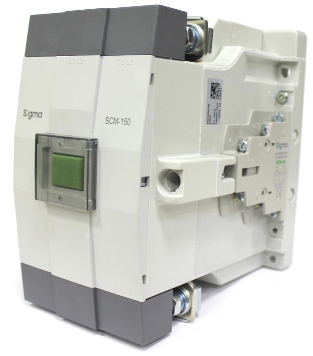 Контактор магнитный пускатель 3 полюса 3 фазы магнітний пускач 45 кВт 55 кВт 60 кВт 75 kWt sigma сігма сигма турция turkey