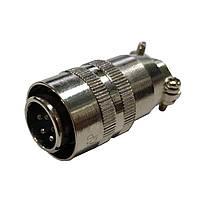 Разъем XS12 K5P кабельный, штекер, 5pin