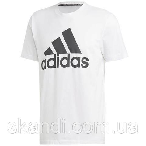 Футболка мужская adidas MH BOS Tee белая DT9929