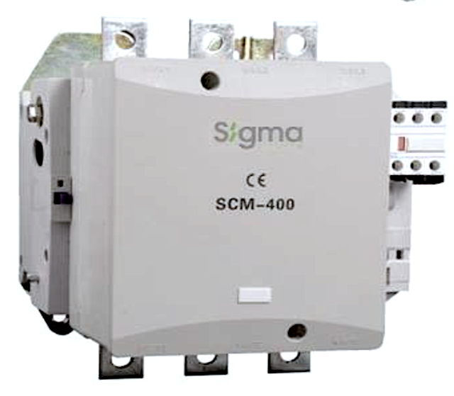 Контактор магнитный пускатель 3 полюса 3 фазы магнітний пускач 132 кВт 90 кВт 160 кВт 200 kWt sigma сігма сигма турция turkey