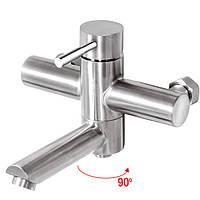 Смеситель для ванны из нержавейки Mixxus SUS-009 (EURO)