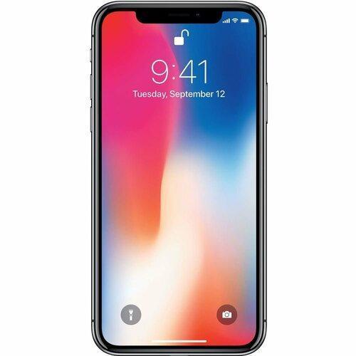 Смартфон Apple iPhone X 256GB Space Gray (MQAF2) (Відновлений)