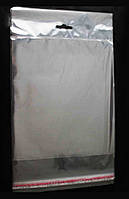 100*85 (30 мкм) + 20 слот + 30 клл - (100 шт) пакеты с слотом и клейкой лентой