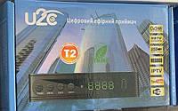 Цифровой эфирный DVB-Т2 ресиверU2C тюнер для теле-программв FullHD качестве Youtube, Megogo,Wi-Fi