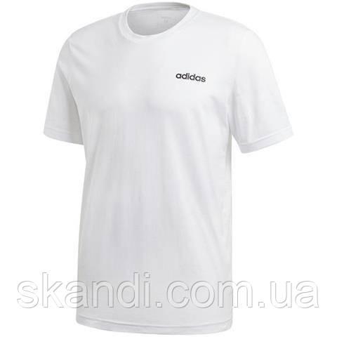 Футболка мужская adidas Essentials Plain Tee белая DQ3089