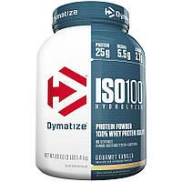 Dymatize Nutrition  ISO 100 - 1,4 кг - клубника, фото 1