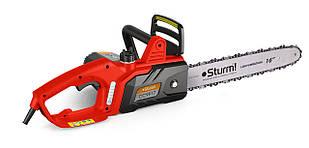 Пила цепная электрическая (1750 Вт, 355 мм, боковой двигатель) Sturm CC9917