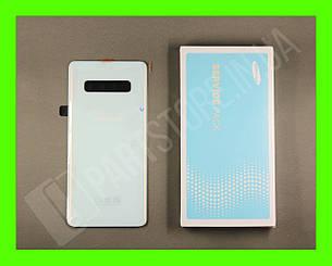 Cервисная оригинальная задняя Крышка Samsung G975 White S10 Plus (GH82-18534B), фото 2