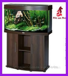 Juwel Rio LED 180 укомплектованный аквариум темное дерево, 180л