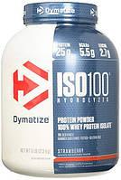 Dymatize Nutrition  ISO 100 - 2,3 кг - ваниль, фото 1