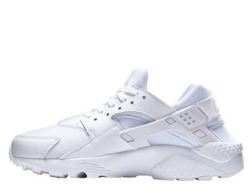 Кроссовки Nike Air Huarache Run White Белые женские