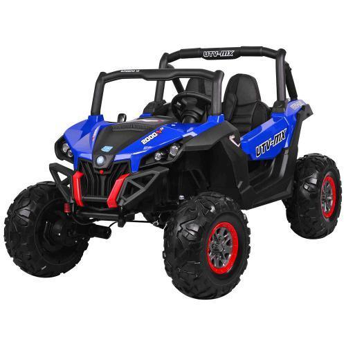 Дитяча машина M 3602EBLR-4 Баггі, 4WD, синій, до 50 кг, до 7 км/год