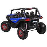 Дитяча машина M 3602EBLR-4 Баггі, 4WD, синій, до 50 кг, до 7 км/год, фото 4