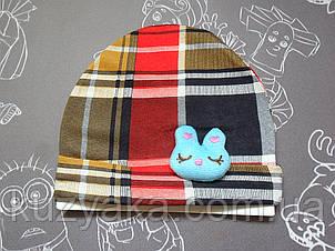 Детская шапочка Аnimal для малышей 3-6 месяцев