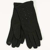 Трикотажные  женские перчатки зимние   № 19-1-39/4, фото 1