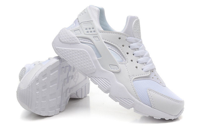 Кроссовки Nike Air Huarache White Белые женские