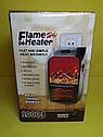 Обогреватель портативный  Flame Heater Plus 500W с имитацией камина, фото 6