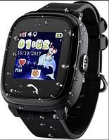 Дитячі водонепроникні годинники DF25 (Q100aqua) Чорні, фото 1