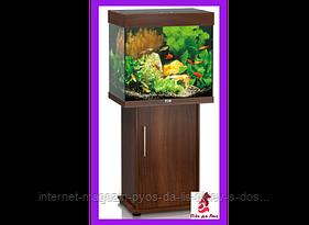 Juwel Lido 120 укомплектованный аквариум тёмное дерево, 120л