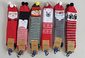 Махровые детские носки «Ekmen Новогодние персонажи» (12 пар)