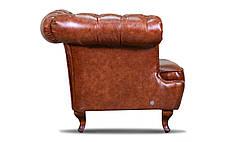 "Кожаный двухместный диван ""Chester Glost"", фото 3"