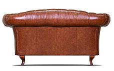 "Кожаный двухместный диван ""Chester Glost"", фото 2"