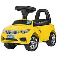 Дитяча каталка-толокар M 3147B (MP3) -6 жовта, фото 1