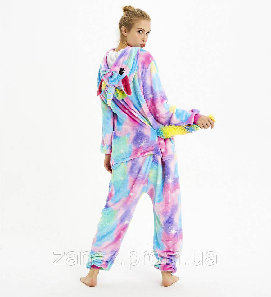 Пижама Кигуруми Звездный Единорог взрослая