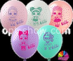 """Латексные шары 12"""" (30 см) куклы LOL"""
