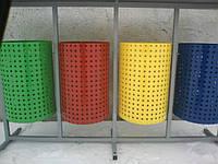 Урна Круглая  для раздельного сбора мусора из 4х ед. без крыши, фото 1