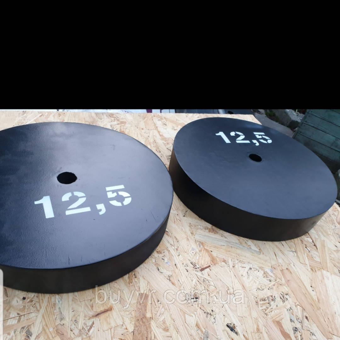 Блины металлические для штанги 25мм D