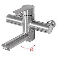 Смеситель для ванны из нержавейки Mixxus DAX-009 (EURO)