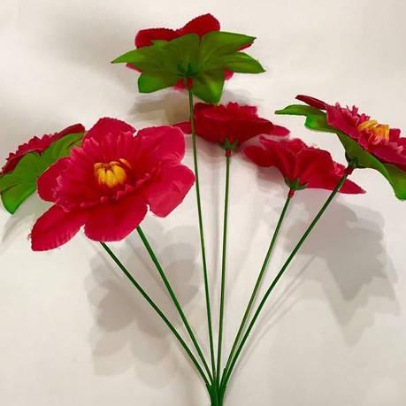 Искусственные цветы. Дешёвый искусственный букет., фото 2