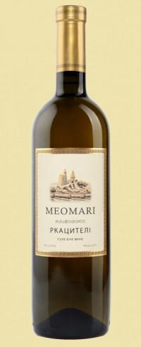 Вино MEOMARI Ркацителі біле сухе 0.75 л 12% Грузия