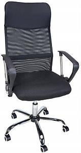 Кресло Bonro Manager черное (41000006)