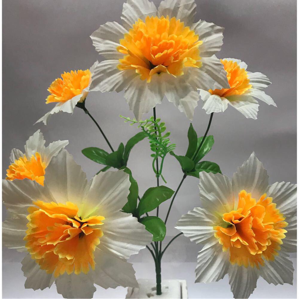 Искусственные цветы. Искусственный букет Нарцисс.