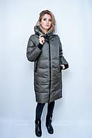 Зимняя женская куртка Lusskiri. Цвет хаки.