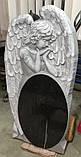 Элитный детский памятник с ангелом №514, фото 4