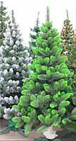 """Ель искусственная новогодняя. 2.2 м. высота. """"Королевская"""". Мягкая хвоя. с белым \ или зеленым напылением."""