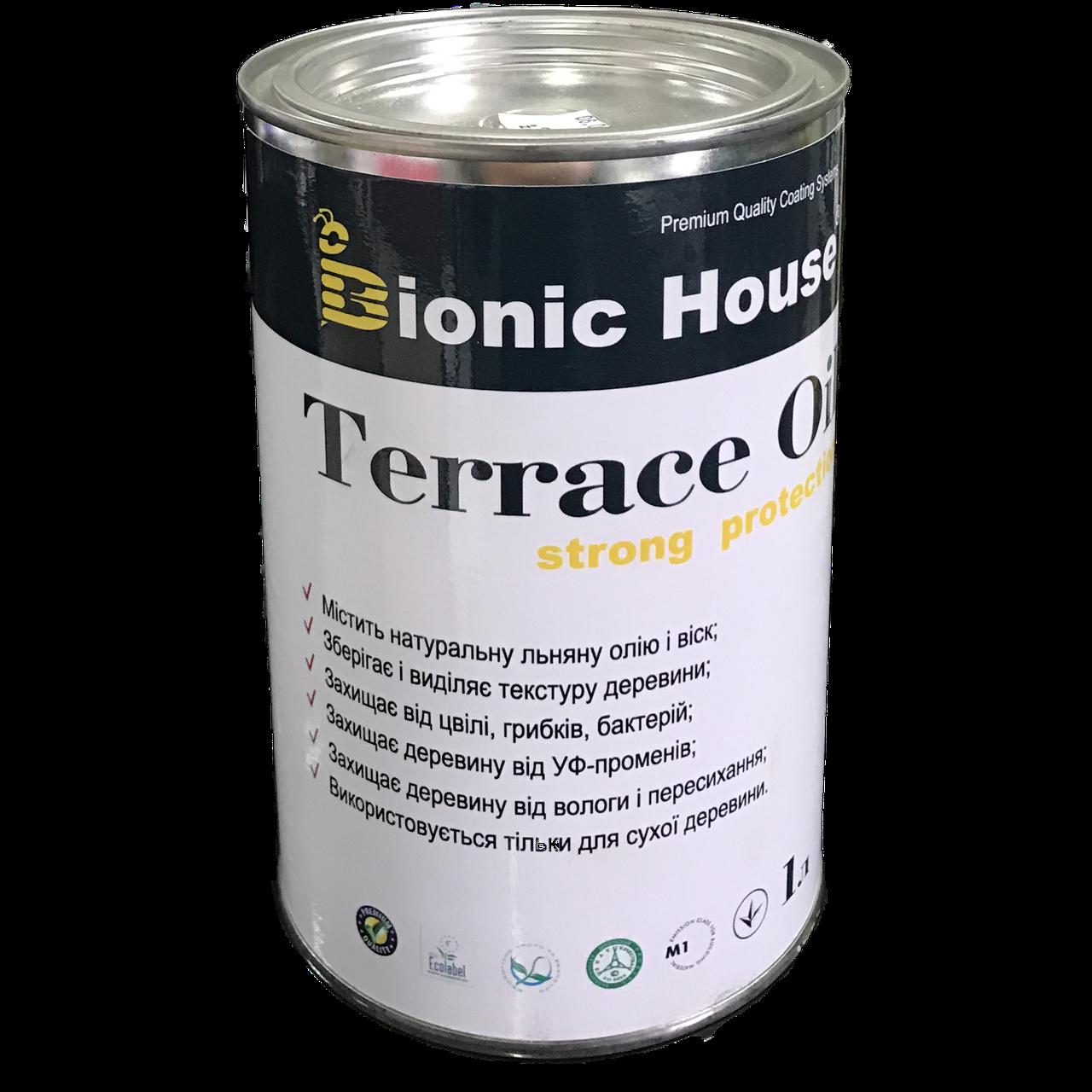 Олія для терас strong protection Bionic House 1л