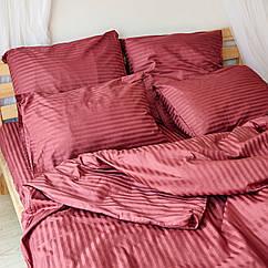 Комплект взрослого постельного белья Чили Страйп ТМ DS Home LineH03P